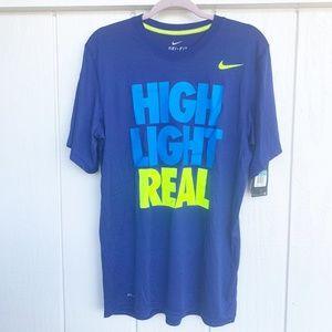❌SALE❌ NWT NIKE Dri-Fit Highlight Reel Shirt M